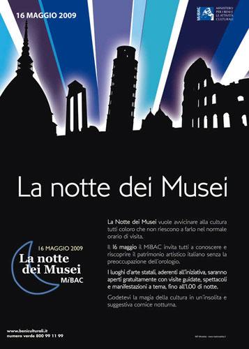 locandina Notte dei Musei