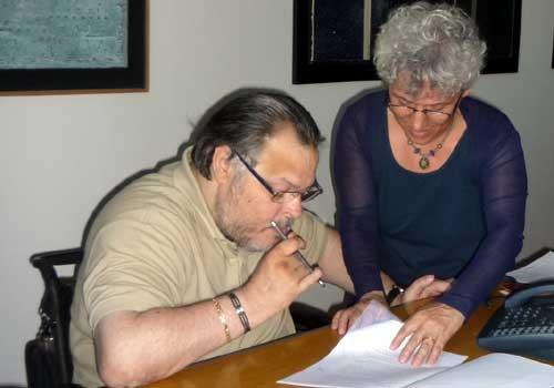 Roberto Farroni e Fiorenza Cannelli
