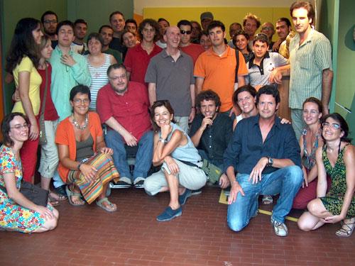 Foto di Gruppo in occasione di Martona Arte 2007