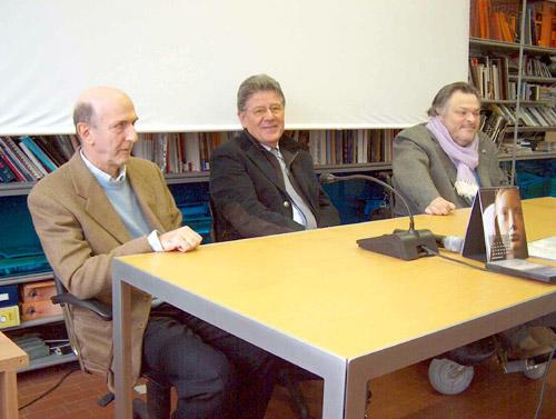 Roberto Farroni, Adolfo Guzzini, Aldo Grassini