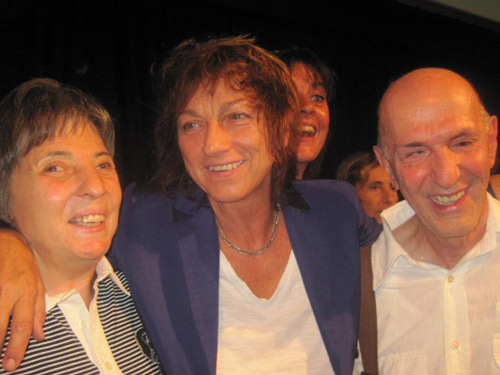Daniela Bottegoni, Gianna Nannini e Aldo Grassini all'aneprima del film
