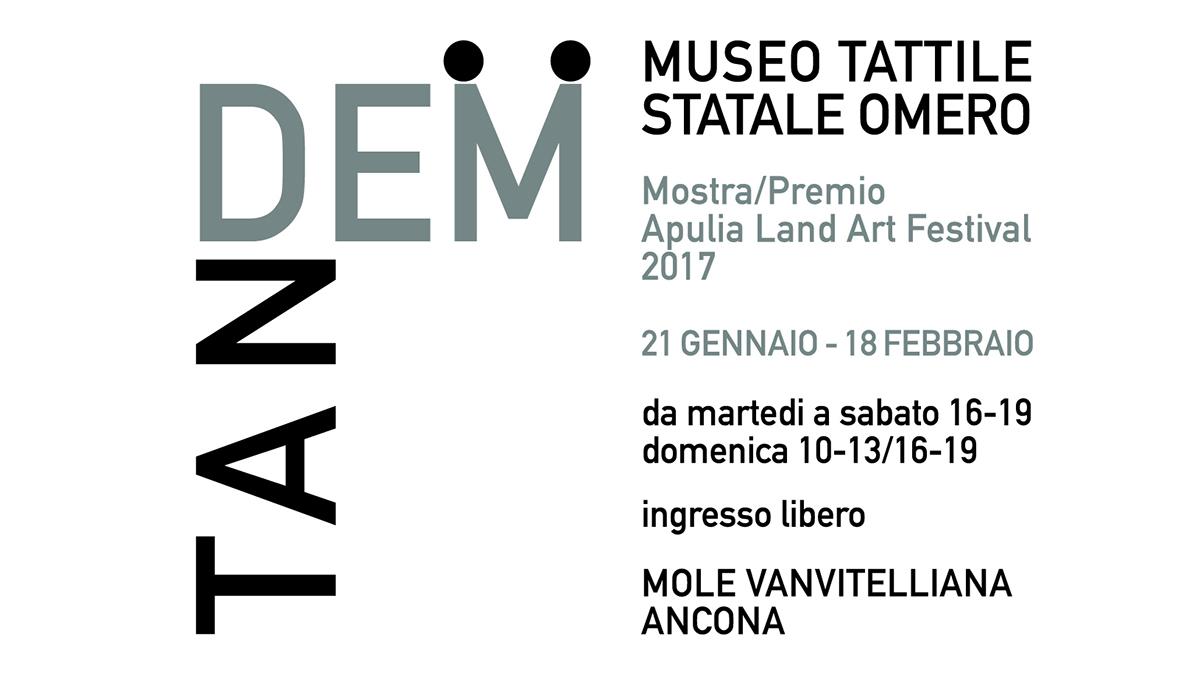 Tandem Mostra Premio dell'Apulia Land Art Festival 2017