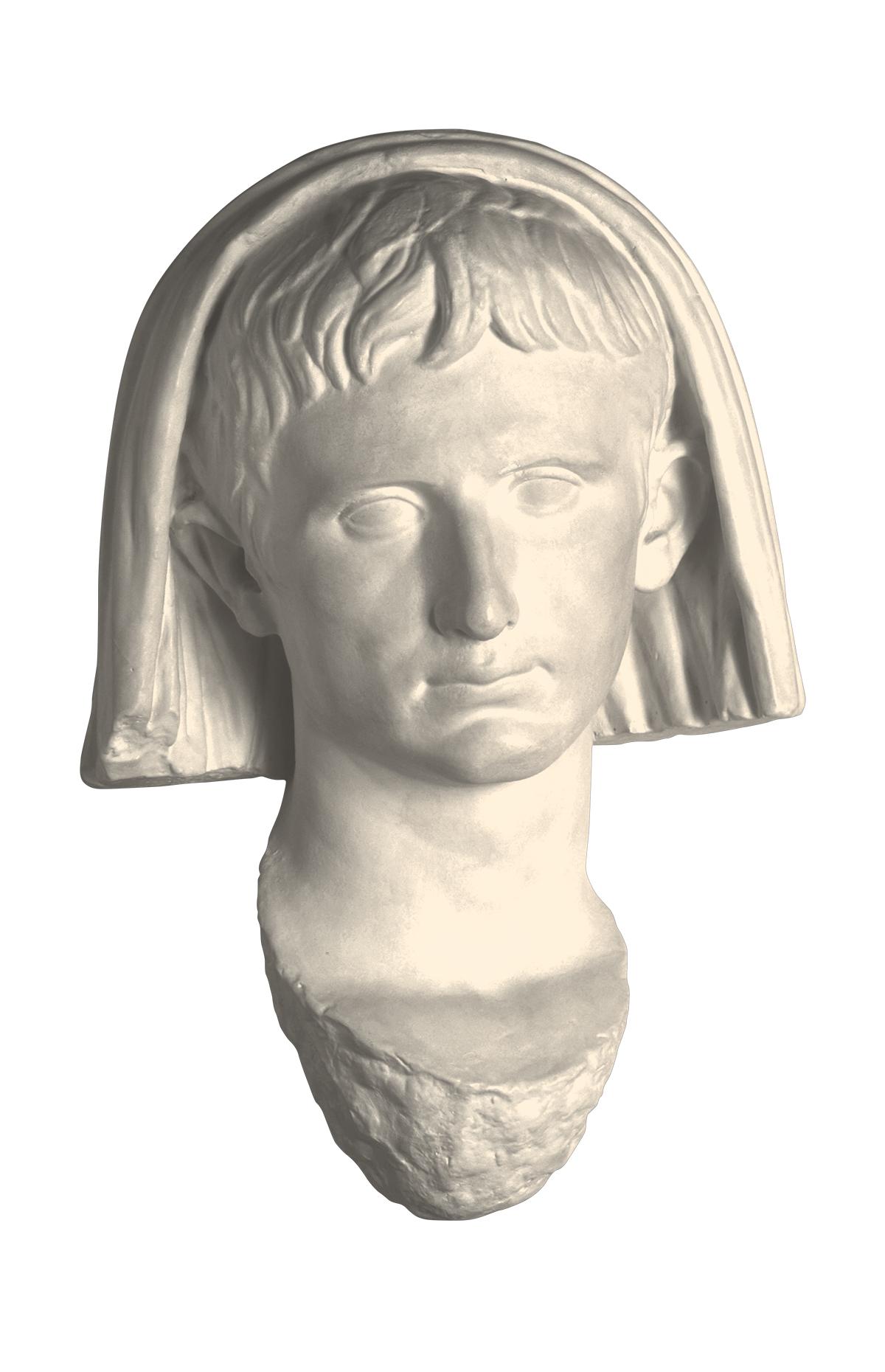 Augusto capite velato (copia in gesso)