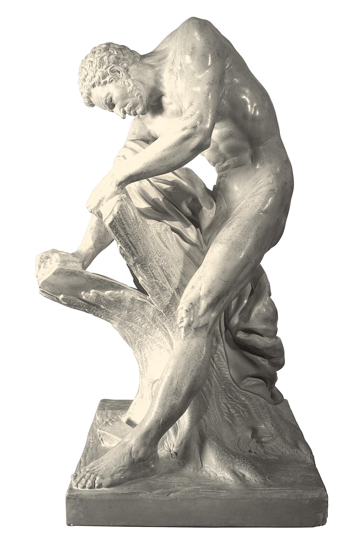 Milone di Crotone (copia in gesso)