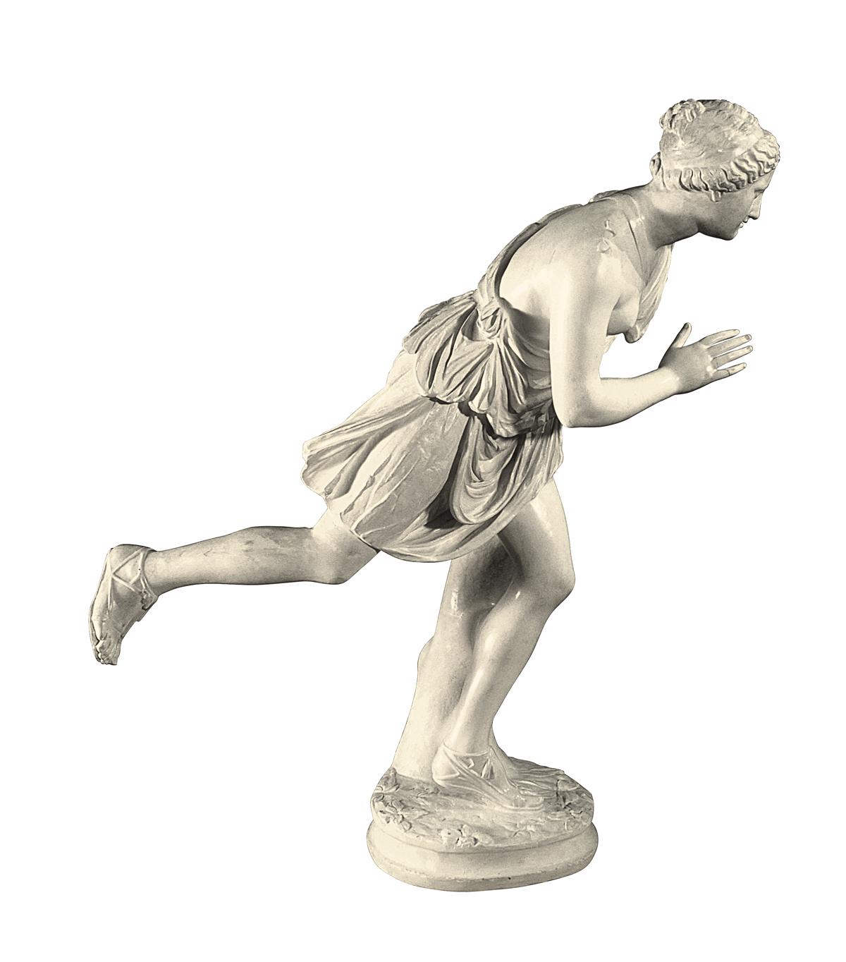 Atalanta (scultura in gesso)