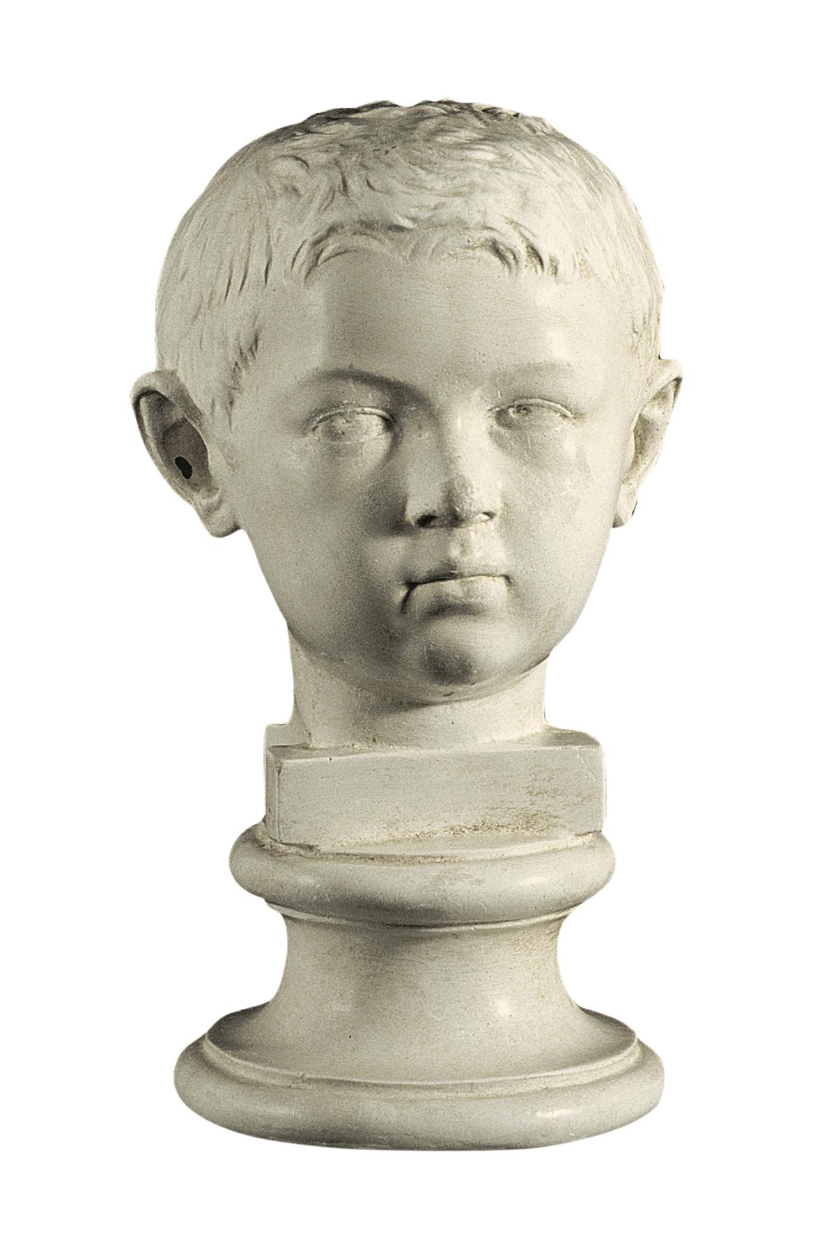 Ritratto di Lucio o Gaio (scultura in gesso)