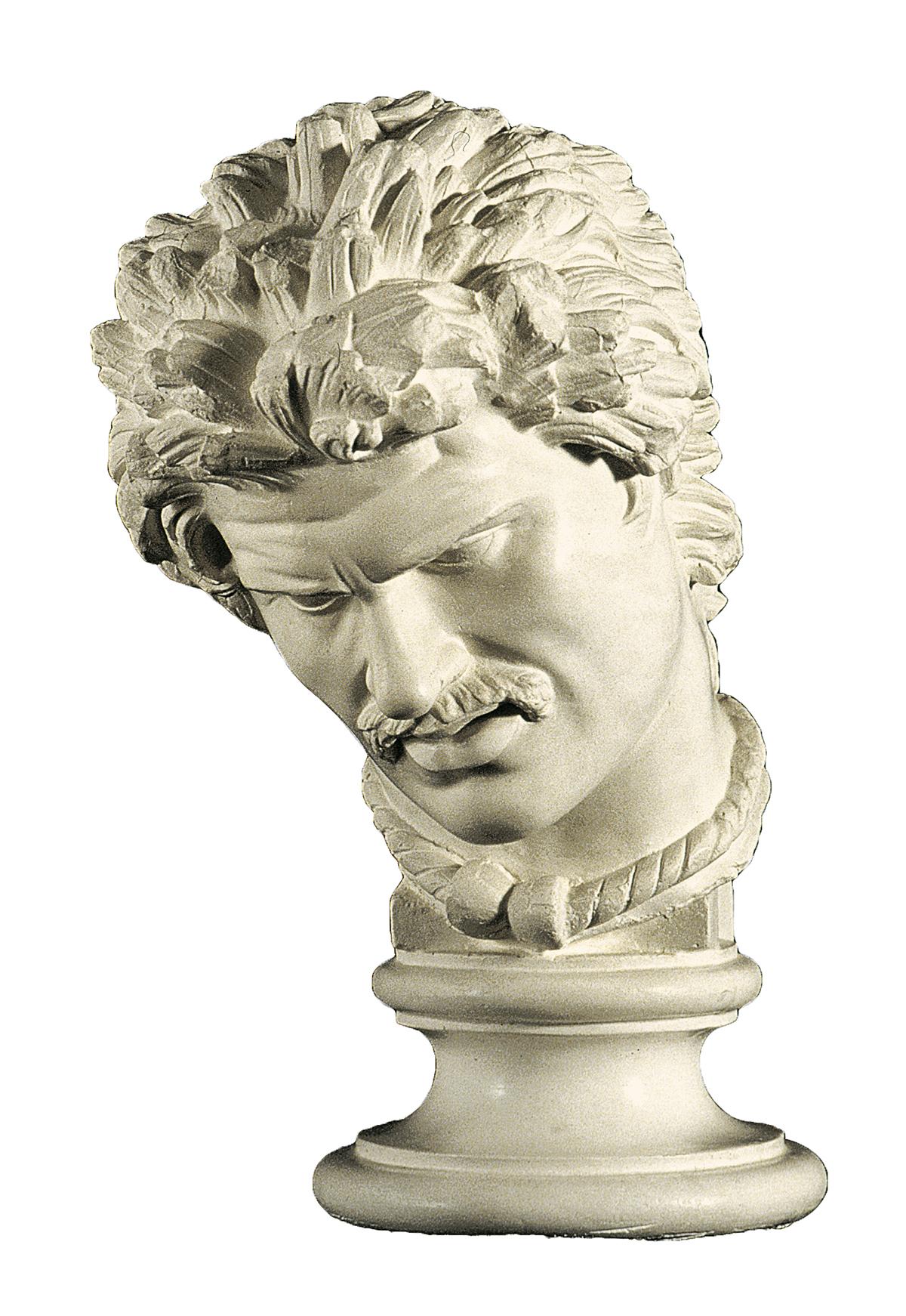 Testa del Galata morente (scultura in gesso)