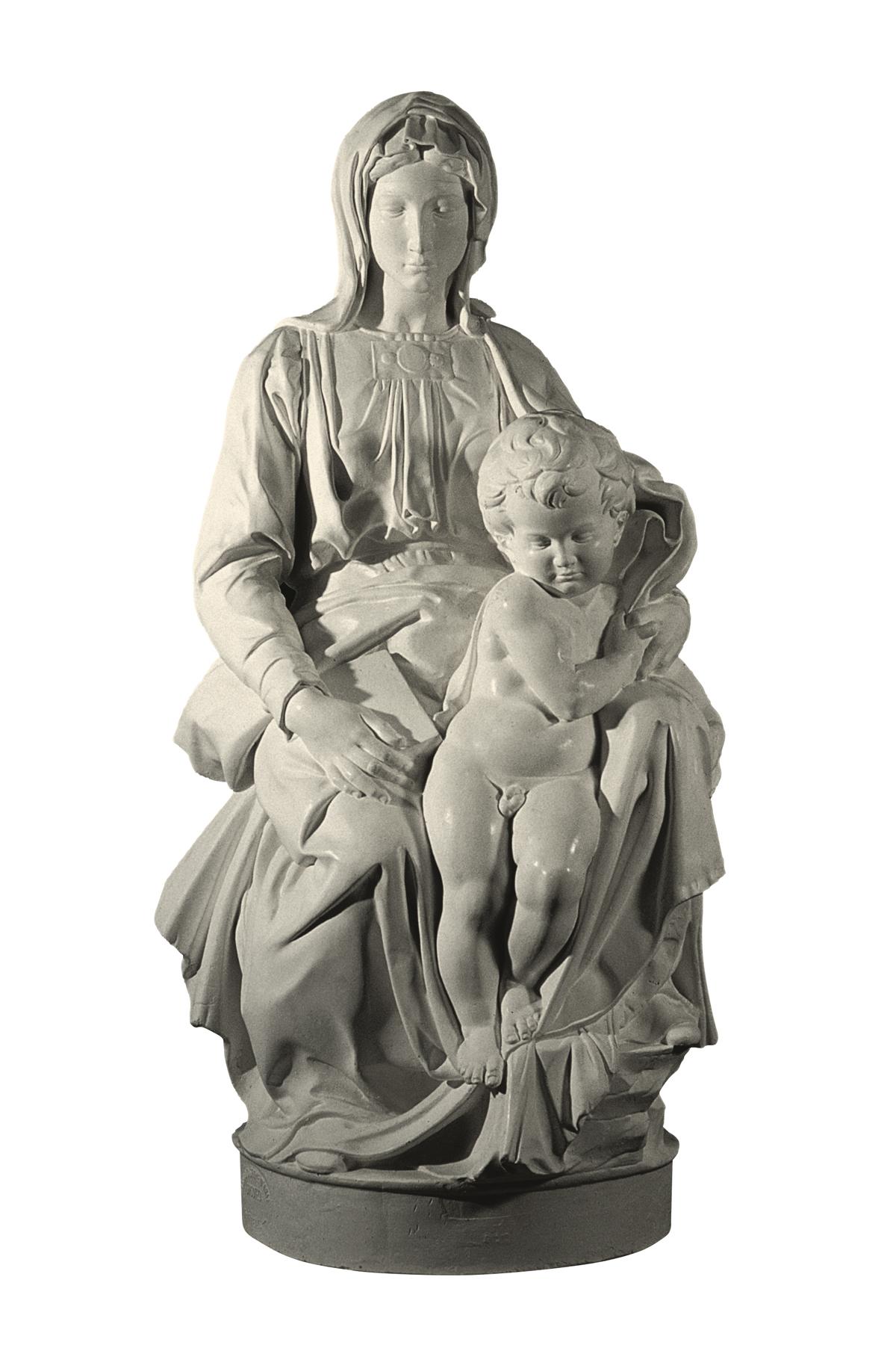 Vergine di Bruges (copia in gesso)
