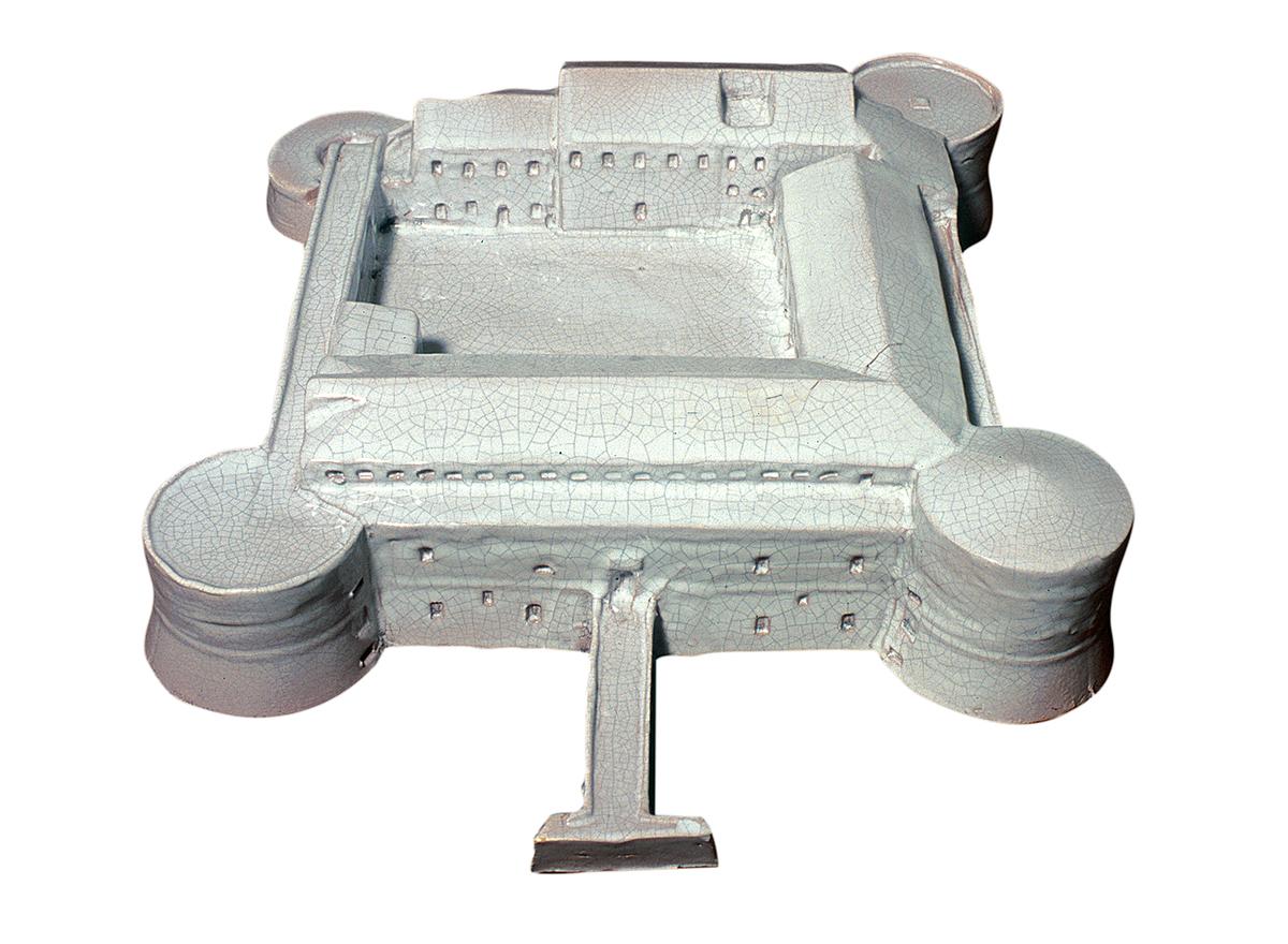 Rocca Costanza, cerami (architectural model)