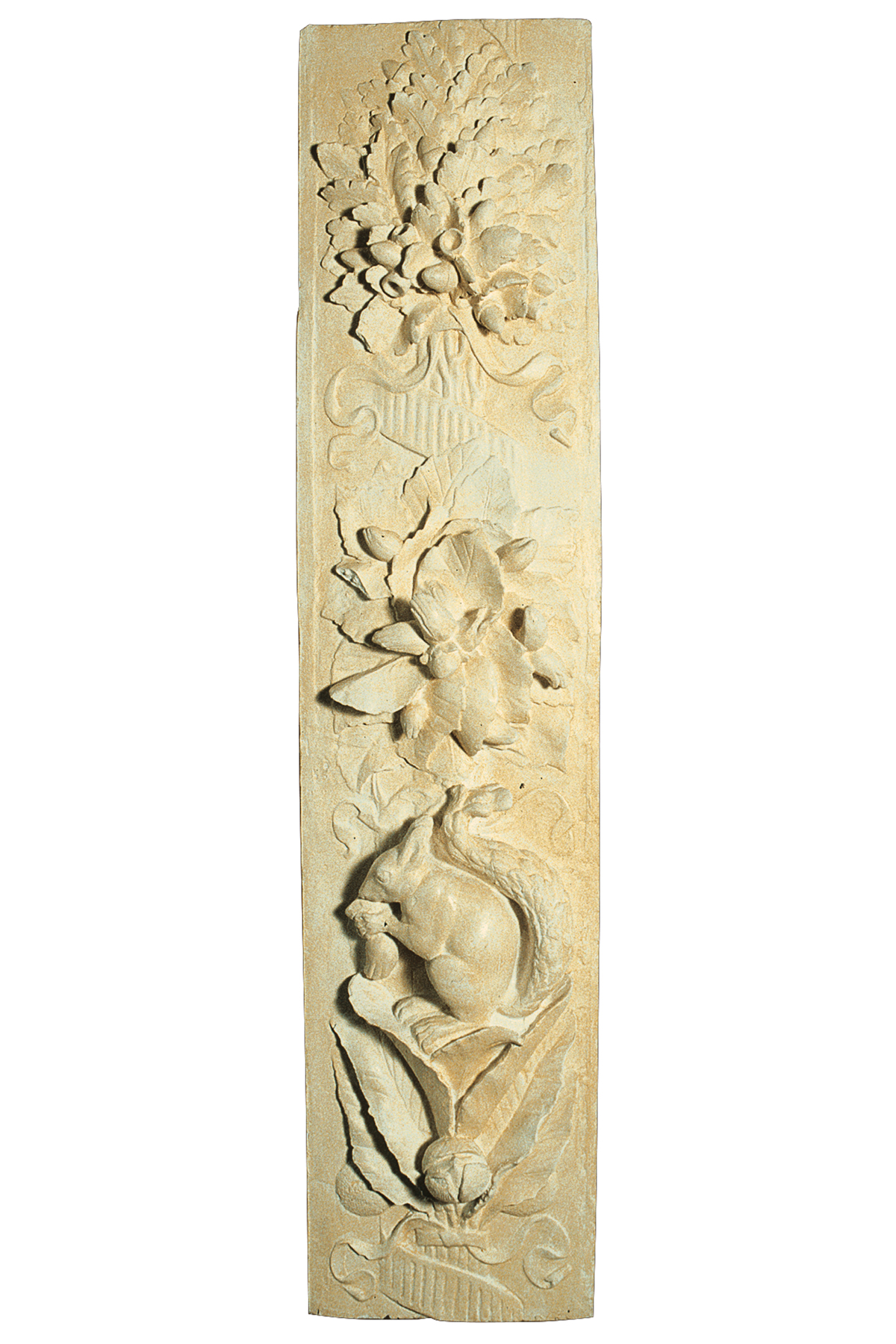 Frammento di decorazione della Porta del Paradiso (copia in gesso)