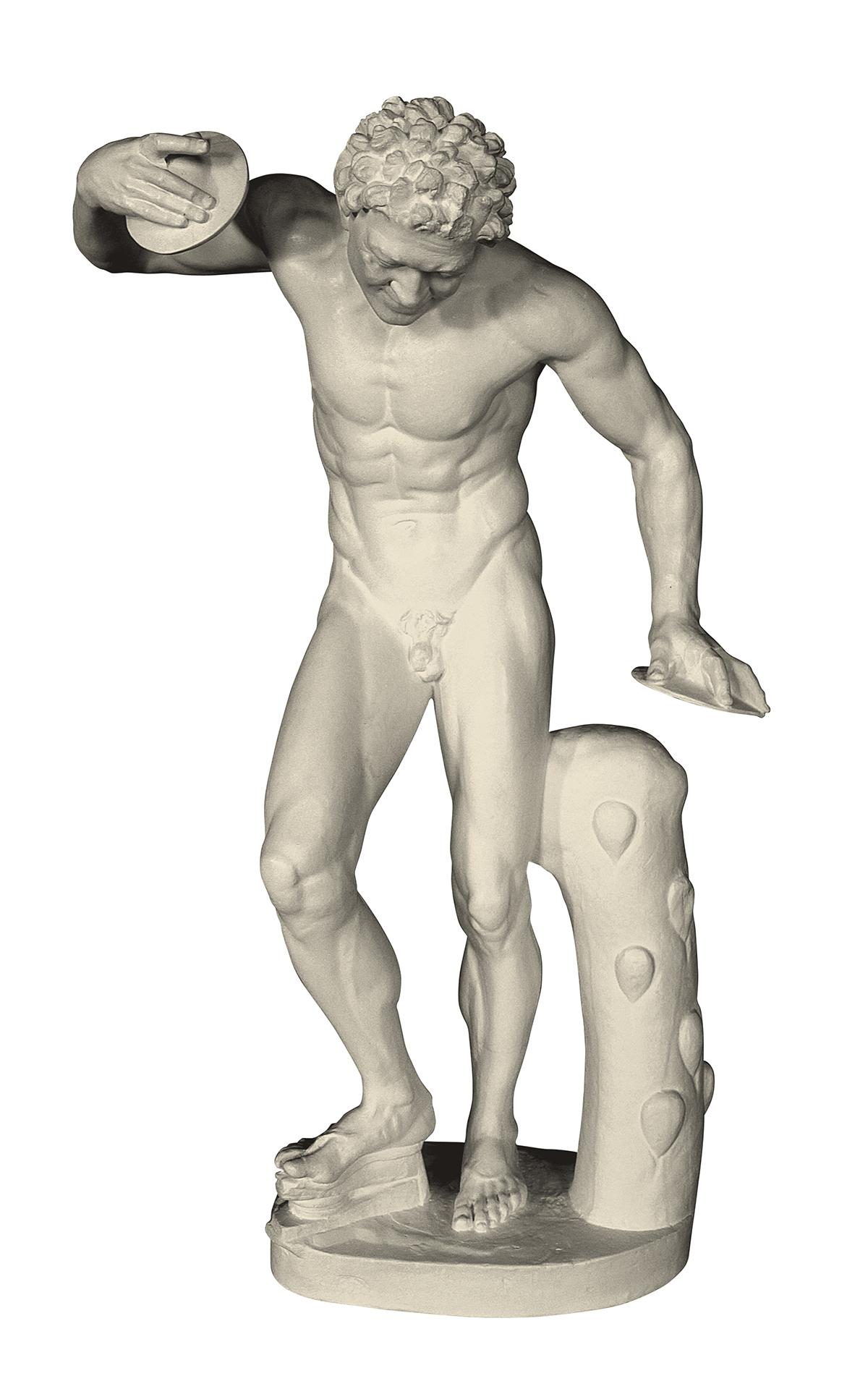 Fauno danzante (scultura in gesso)