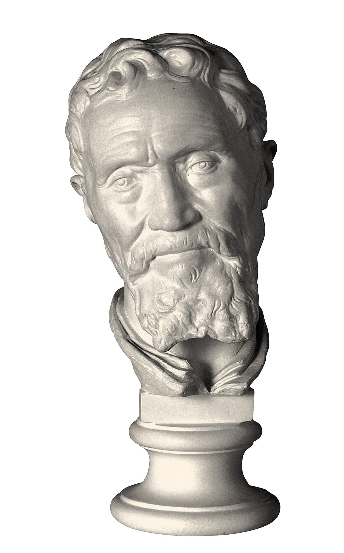Ritratto di Michelangelo (scultura in gesso)