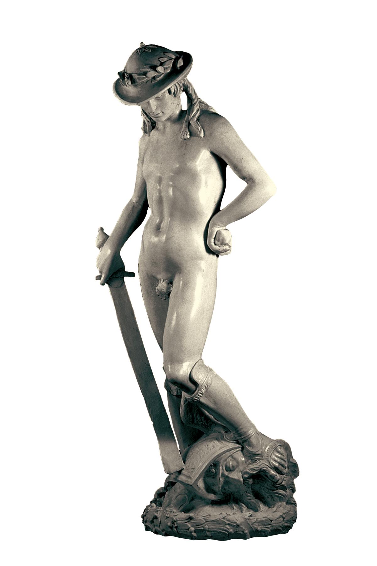 David di Donatello (copia in gesso)
