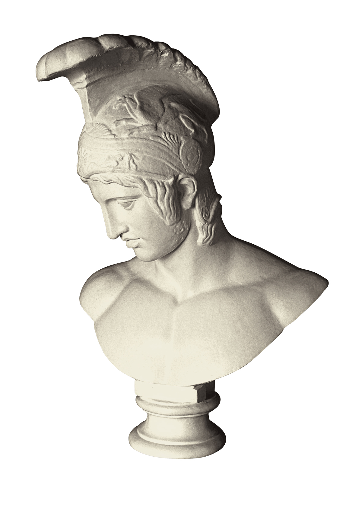 Busto di Ares Borghese (muldaĵo el gipso)