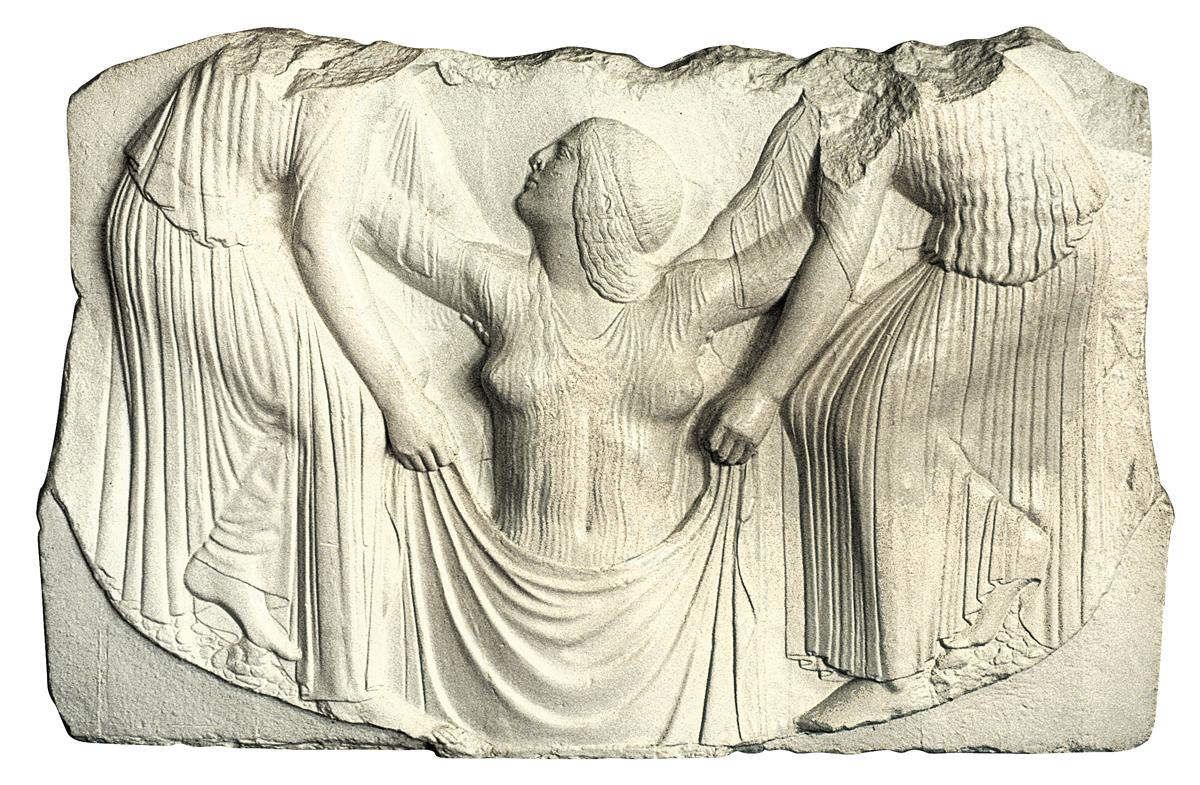 Trono Ludovisi (scultura in gesso)
