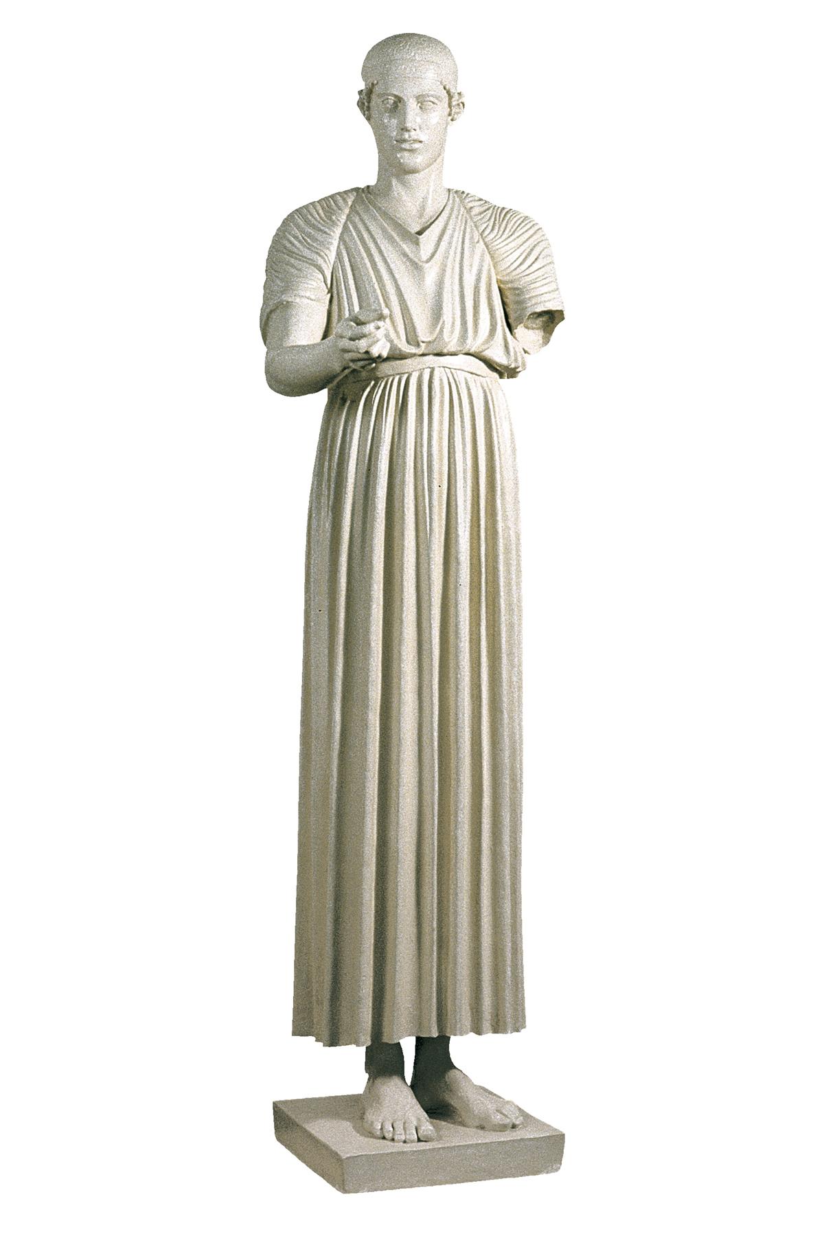Auriga di Delfi (copia in gesso)