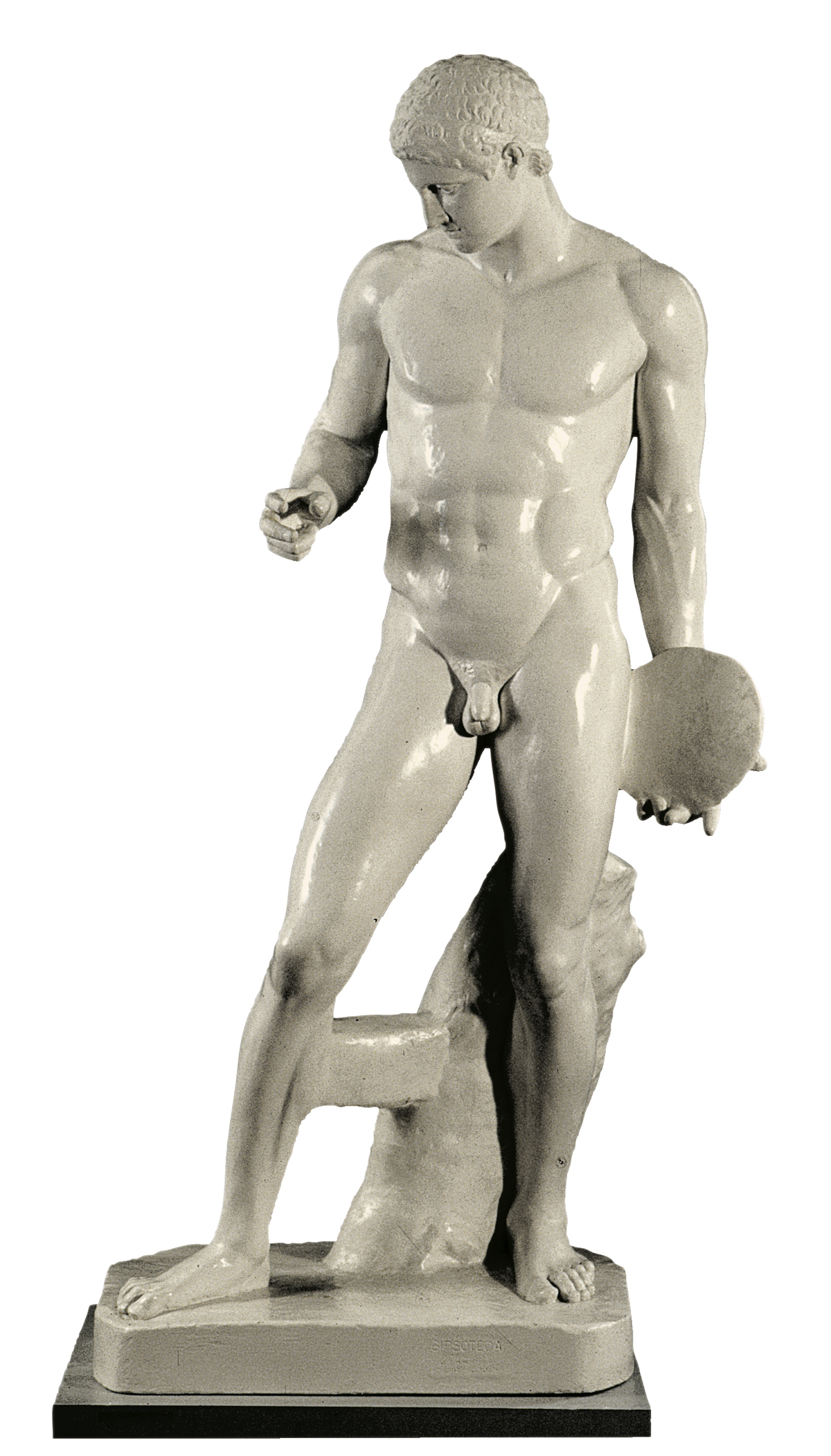Discus Bearer (cast in plaster)
