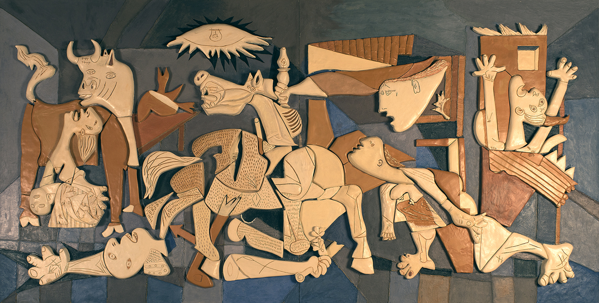 Guernica (copia in gesso)