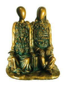 Manichini coloniali scultura Giorgio De Chirico