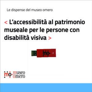 L'accessibilità al patrimonio museale per le persone con disabilità visiva