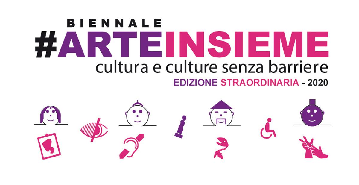 logo biennale arteinsieme versione digitale