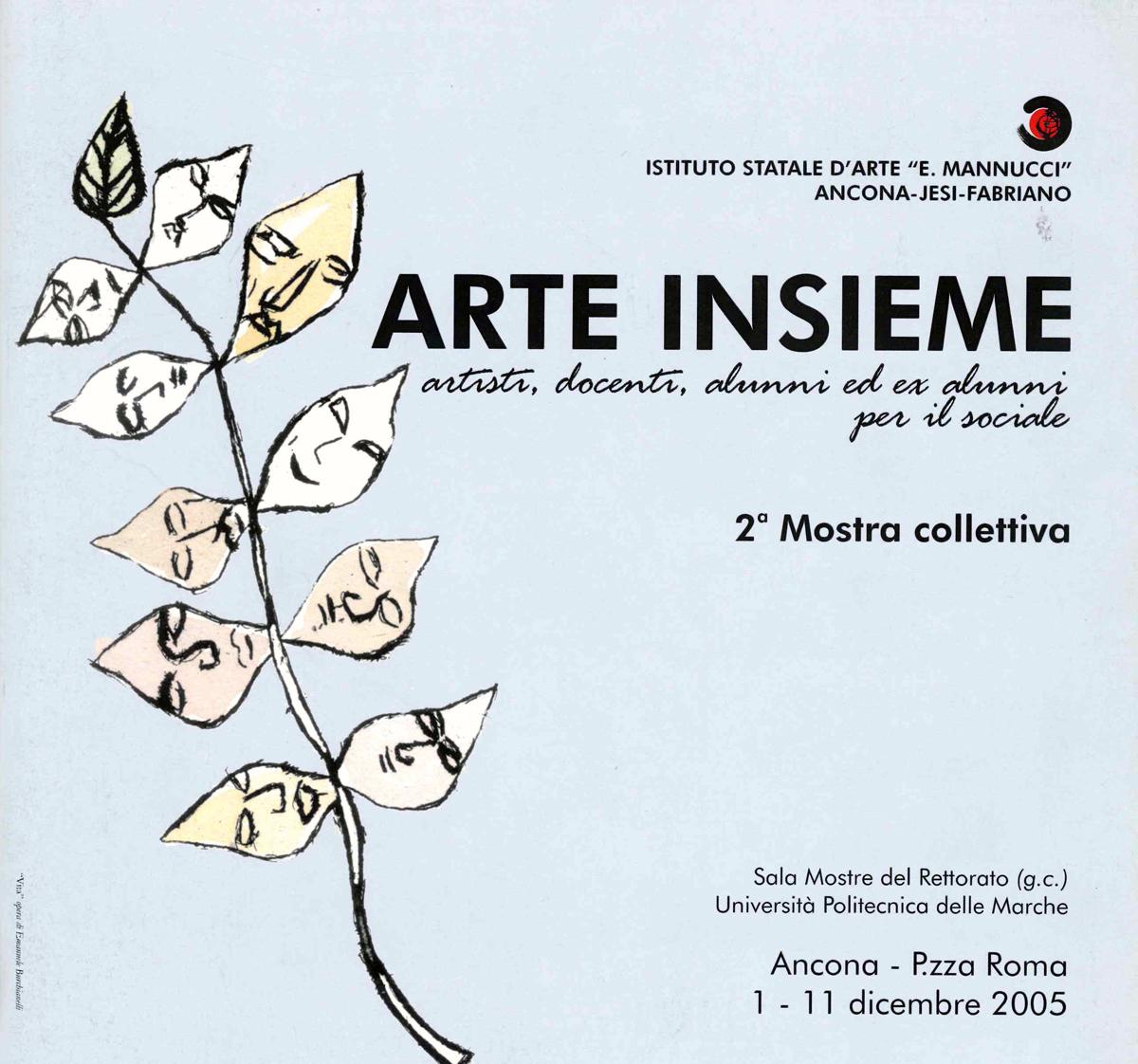 copertina catalogo arteinsime II edizione