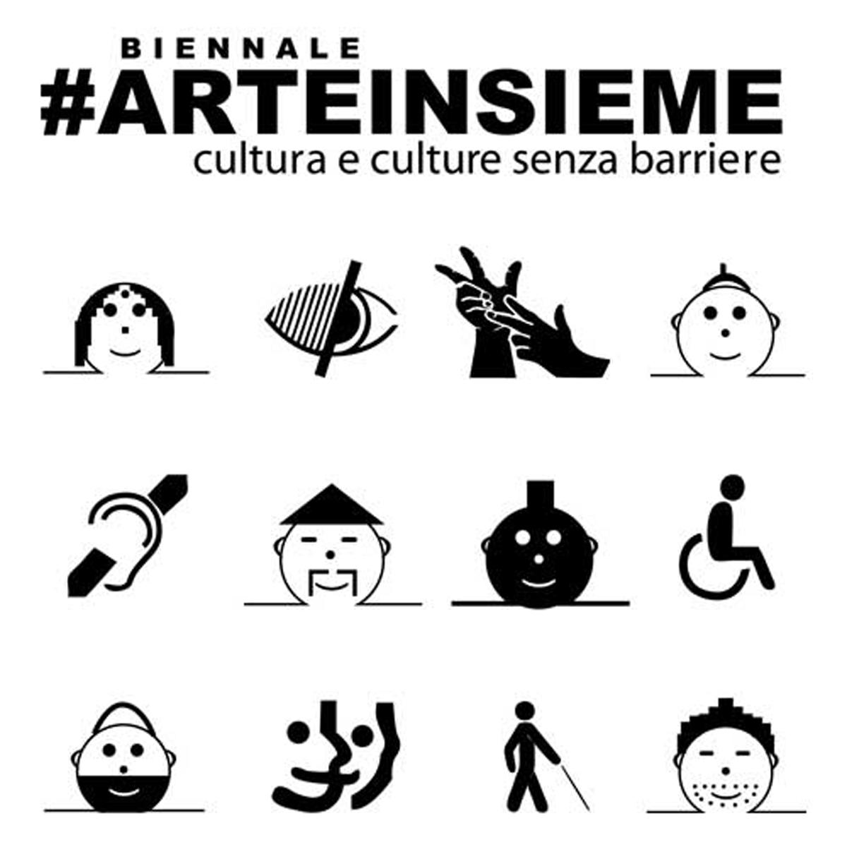 Logogramo de Bienalo Arteinsieme