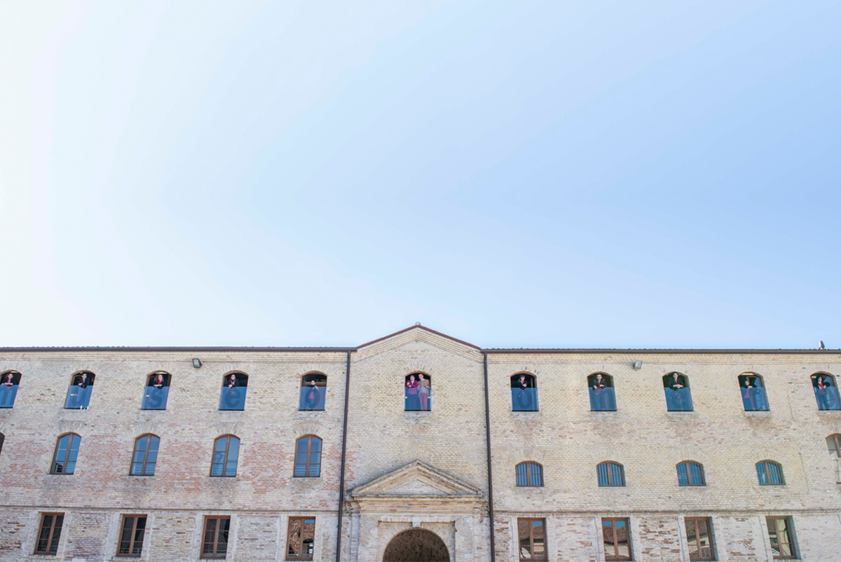 Facade of the Mole Vanvitelliani