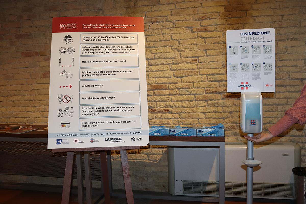 le regole per visitare il museo