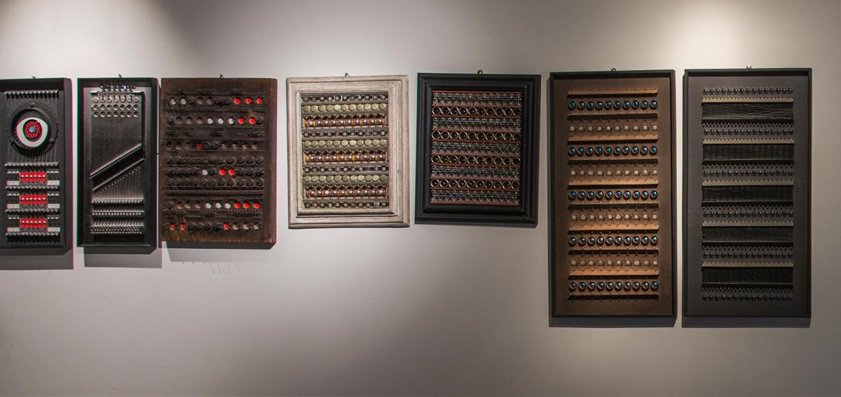 sette quadri tattili di Roberto Papini