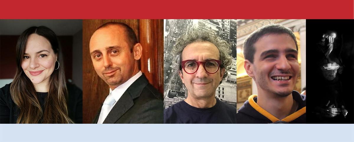 Laura Crucianelli, Roberto Scano, Fabrizio Caccavello, Sauro Cesaretti e Gerald Pirner.