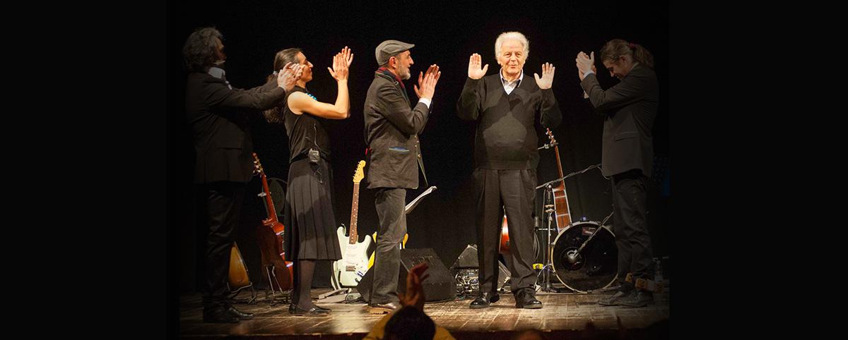 Piero Cesanelli e la Compagnia di Musicultura