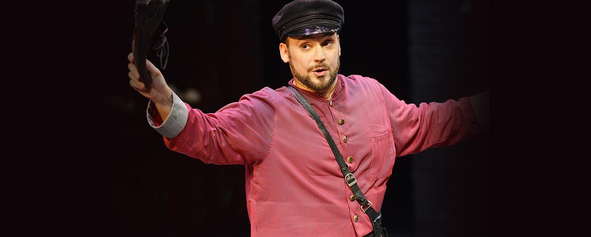 Il soprano Davide Bartolucci in scena